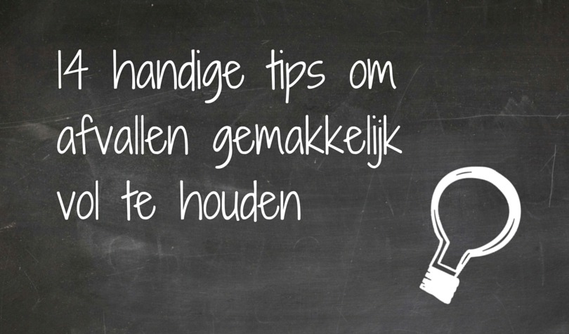afvallen tips motivatie