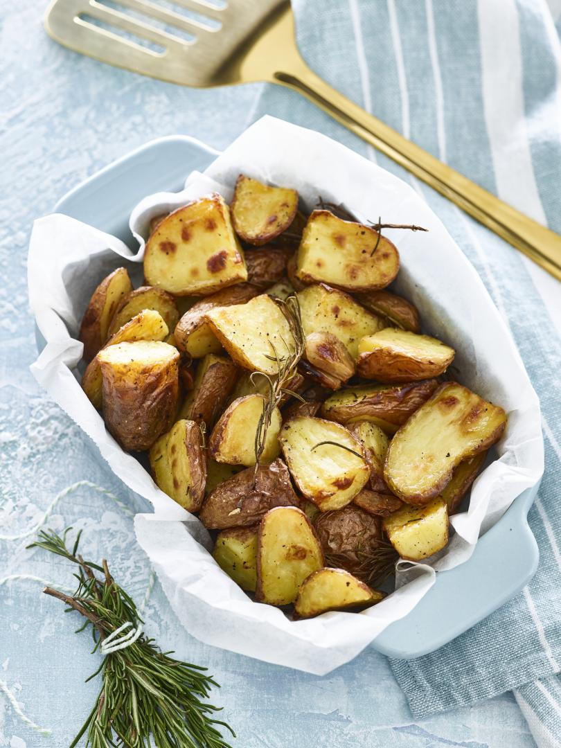 aardappelen met schil bakken in de oven