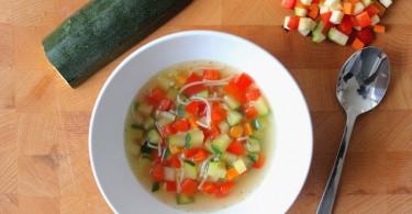 Supersnelle groentesoep