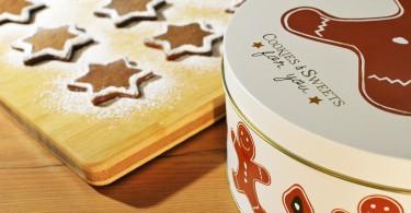 Kerstkoekjes met trommel