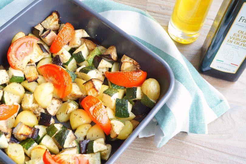 ovenschotel met courgette en aubergine | project gezond
