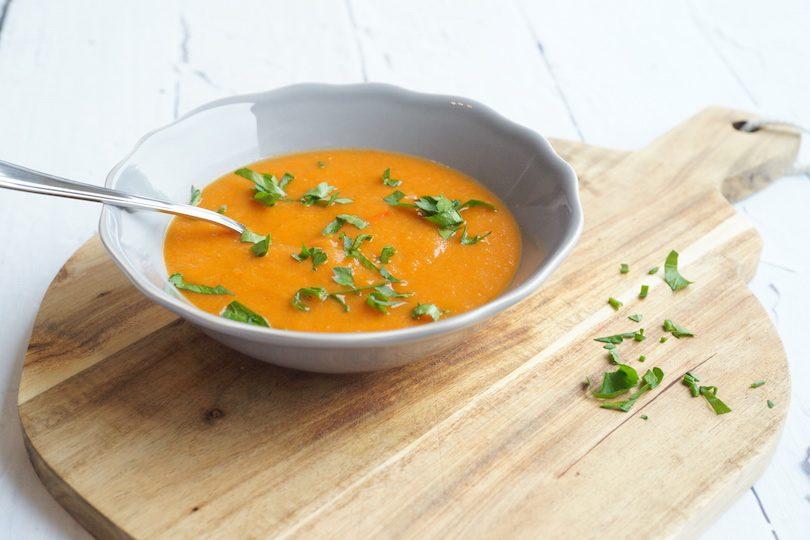 Bomvolle groentesoep