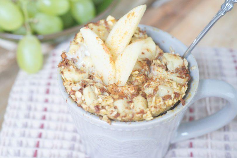 Appel-kaneel mugcake