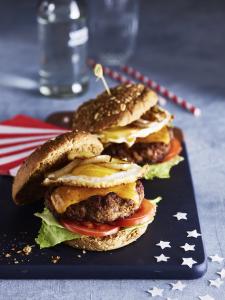 Amerikaans broodje hamburger