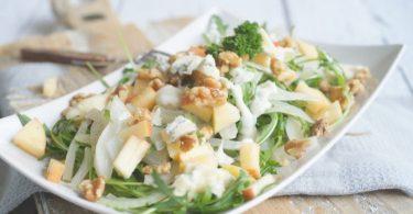 Venkelsalade met blauwe kaas