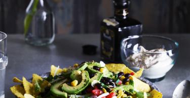 Nacho lunchsalade