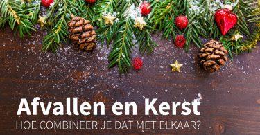 Afvallen tijdens de kerstdagen
