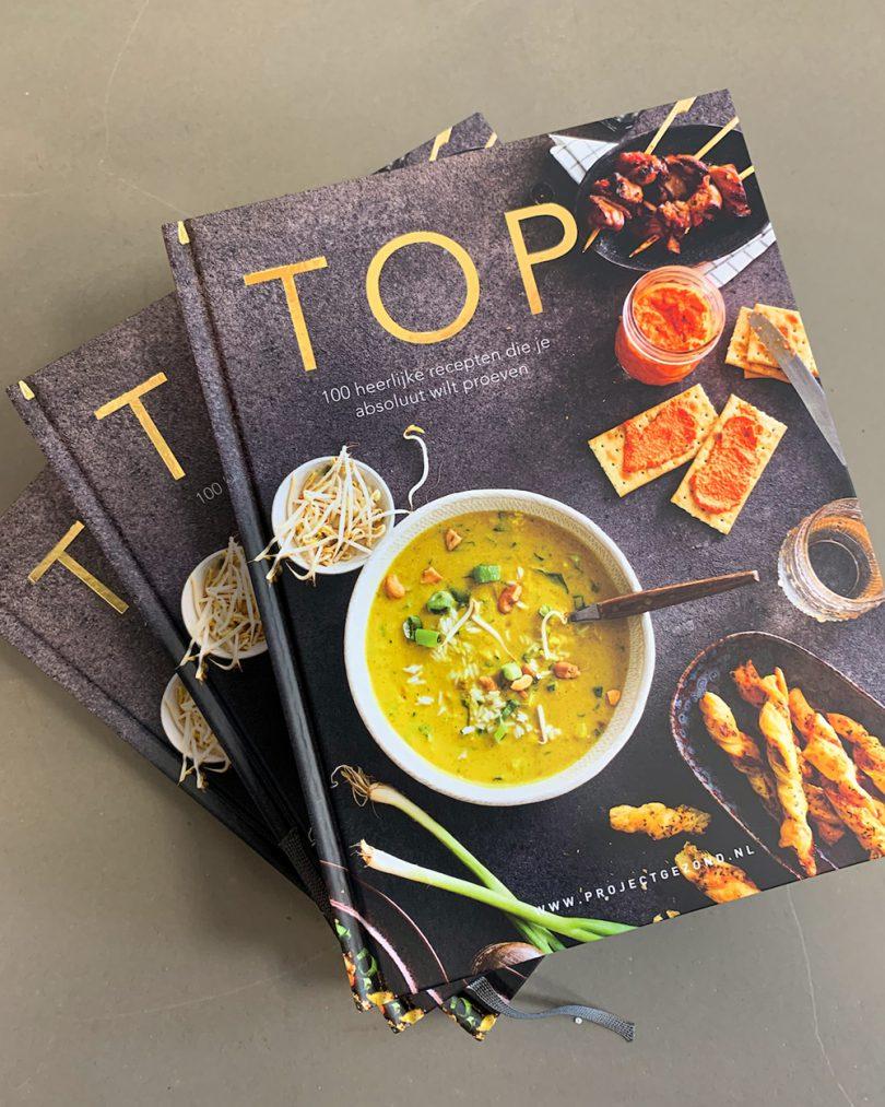 Project Gezond kookboek TOP